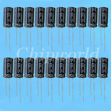 20PCS 820UF 25V Radial Electrolytic Capacitor NEW