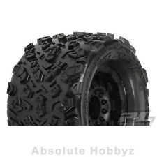 "Pro-Line 2.0 Big Joe 3.8"" Tire w/F-11 17mm 1/2"" Offset MT Wheel (Black) (1pr)"