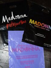 Madonna PROMO Bags Confessions Tour Sticky Sweet Rebel Heart RARE