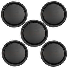 New Lot 5Pcs Rear Lens Cap Cover For Sony E Mount NEX NEX-5 NEX-3 Camera Lens