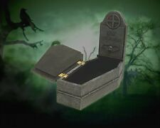 "THE CROW Brandon Lee ERIC DRAVEN Unisex Polyresin TOMB STONE JEWELRY BOX 8"" New"