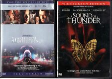 A.I. Artificial Intelligence & A Sound Of Thunder;2DVDs