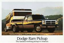 Old Print. 1993 Dodge Ram 350 Super LE Dually Club Cab Pickup