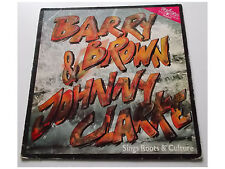 Barry Brown & Johnny Clarke ‎– Sings Roots & Culture - LP