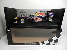 Pauls Model Art 1:18 Minichamps Red Bull Racing Renault RB7 S VETTEL F1 Car