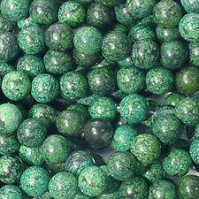 8MM CHRYSOCOLLA JASPER ROUND GEMSTONE BEADS 15.5 IN STRAND