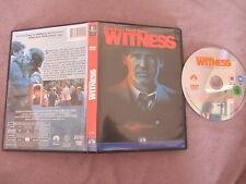Witness de Peter Weir avec Harrison Ford, DVD, Thriller