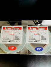 """FUN PACK! Scor-Tape Adhesive  - 1 each 1/8"""" and 1/4"""" Scor-Pal FREE SHIPPING!!!"""