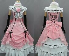 Black Butler Kuroshitsuji Ciel Cosplay Dress Costume Any Size
