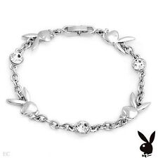 PLAYBOY Attractive Bracelet With Genuine Crystals