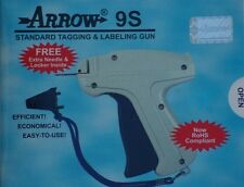 Arrow 9S Price Tag Gun +1 Needle + 1000 Barbs  Dennison Style Tagging  Attacher