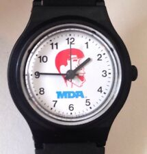 Jerry Lewis MDA Muscular Dystrophy Watch - Rubber Band - Vintage Japan