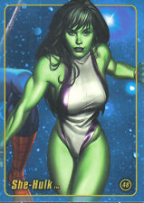 MARVEL Figura FACTORY SERIES 1 TRADING CARD NUMERO 48