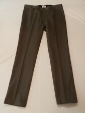 Prada Men's Microcotton Dress Slacks Pants SPE12 Pietra Stone US 38 EU 52 NWT