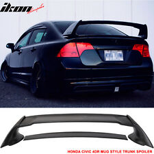 06-11 Honda Civic 4Dr Rear Trunk Spoiler Wing (ABS) Mugen Style