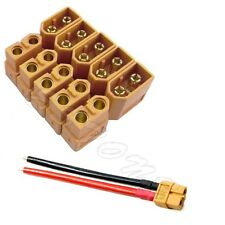 5 Pairs XT60 Male Female Bullet Connectors Plugs for RC Lipo Battery