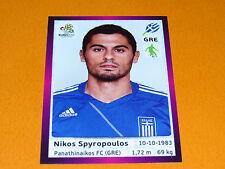 91 N. SPYROPOULOS HELLAS GRECE FOOTBALL PANINI UEFA EURO 2012