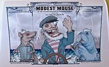 Modest Mouse Poster for 2009 Concert in Portland Oregon By Ben Wilson 14X10