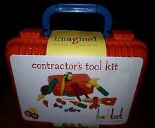 BATTAT CONTRACTORS TOOL KIT PRETEND PLAY TODDLERS 3+ IMAGINATION 16PC PLAYSET