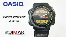 VINTAGE  CASIO AW-70 RUNNING TRAINER MODULE 757 JAPAN