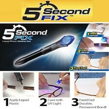 5 Second Fix Quick UV Light Liquid Plastic Welding Bond Compound Repair Glue Sec