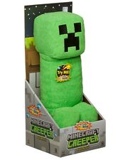 "MINECRAFT - Creeper 14"" Plush Toy With Sound (Jinx) #NEW"