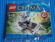 LEGO - CHIMA ( SET 30251 - WINZARS PACK PATROL ) BRAND NEW