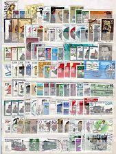 Kleine Sammlung DDR o - aus 1982 - 1987 - KW  36,-- €  ( 32760 )
