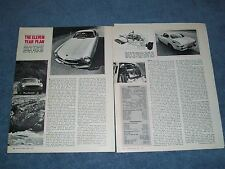 """1970 Volvo P-1800 Vintage Info Road Test Article """"the Eleven Year Plan"""""""
