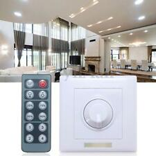 12-24V 8A Wireless IR Remote LED Light Dimmer Brightness 12 Key Controller