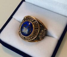 RARE! US American Legion Boys Nation 50th Anniversary 10K Gold Men's Ring