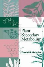 Plant Secondary Metabolism by David S. Seigler (1998, Hardcover)