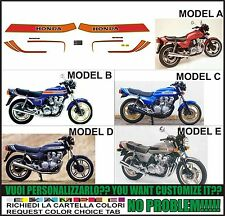 kit adesivi stickers compatibili CB 900 f 1981 bol d'or eu