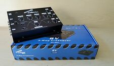 New Audiopipe XV-3XP Electronic Crossover 3 Way 8 Volt RCA Output