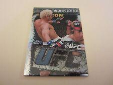 Josh Koscheck 2010 Topps UFC Main Event Fight Mat Relics #FMRJK Card UFC MMA