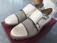850$ Bally Double Monk Shoes Size US 8.5 Made in Switzerland