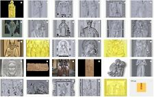 36pcs CNC 3D model in STL format ArtCAM (258 religion Catholic Christian icons)