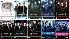 The Complete Spooks BBC TV Series DVD Collection Season 1 2 3 4 5 6 7 8 9 10 NEW