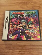 Mario And Luigi: Partners In Time Nintendo 3ds Ds 2ds Dsi Cib With Manaul Lk New