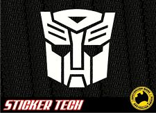 TRANSFORMERS AUTOBOT VINYL STICKER DECAL TO SUIT CAMARO RATCHET BUMBLEBEE