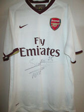 Arsenal 2008-2009 Away Football Shirt Signed by Adebayor with COA /31116