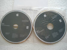 Apple iMac Restore Install Disks DVD OSX Snow Leopard 10.6.2 & Applications DVD