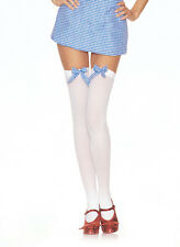 Thigh Highs W/Gingham Bow, Stockings, Leg Avenue, Wizard Of Oz, Dorothy, Story