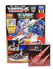 Takara Tomy Encore Transformers 23 Fortress Maximus + PC 13 Titan Sword