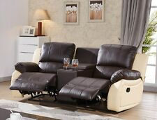 Ledersofa Kinosofa Relaxcouch Fernsehsofa Recliner 5129-Cup-2-377-317 sofort