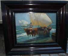 Gorgeous, Enrique MARTINEZ CUBELLS RUIZ (1874-1947) Spanish Painter - Oil on can