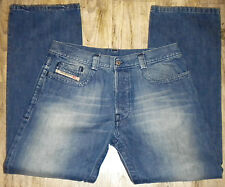TAG SZ 33 MENS Italy DIESEL INDUSTRY Rivec 793 Button Fly JEANS Actual 35X32.5