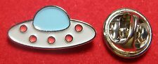 UFO Flying Saucer Disc Lapel Pin Badge Brooch