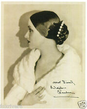 NATACHA RAMBOVA Signed Photograph - Ballet Dancer - preprint