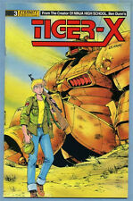 Tiger-X #3 1988 Ben Dunn Eternity Comics